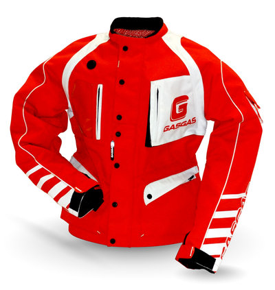 SUPERBE VESTE TRIAL ENDURO GASGAS ROUGE racing